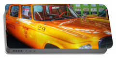 Yellow Cab No.29 Portable Battery Charger by Dan Stone