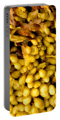 Portable Battery Charger featuring the photograph Yellow Kelp Pods by Brent L Ander