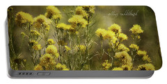 Yellow Rabbitbrush Portable Battery Charger