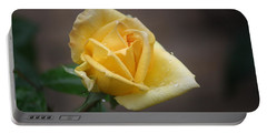 Portable Battery Charger featuring the photograph Yellow Rose Of Texas by Donna  Smith