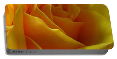 Yellow Rose Of Texas Portable Battery Charger by Sandra Phryce-Jones