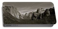 Portable Battery Charger featuring the photograph Yosemite Valley by Eric Tressler