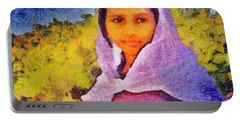 Young Moroccan Girl Portable Battery Charger