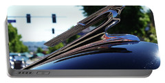 1941 Cheverolet Hood Ornament Portable Battery Charger