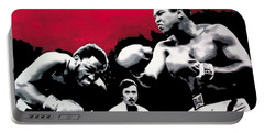 - Ali Vs Fraser - Portable Battery Charger by Luis Ludzska
