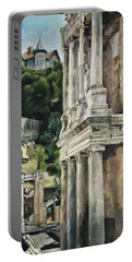 Ancient Amphitheater Portable Battery Charger