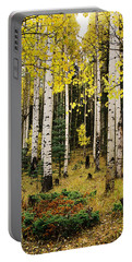 Aspen Grove In Upper Red River Valley Portable Battery Charger