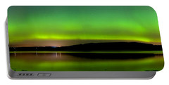 Aurora Over The Beauly Firth Portable Battery Charger
