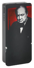 - Churchill - Portable Battery Charger by Luis Ludzska