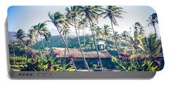 Portable Battery Charger featuring the photograph  Lanakila 'ihi'ihi O Iehowa O Na Kaua Church Keanae Maui Hawaii by Sharon Mau
