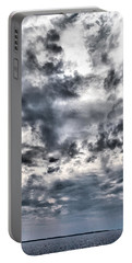 Portable Battery Charger featuring the photograph  Mental Seaview by Jouko Lehto