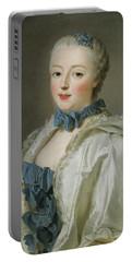 Portrait Of Francoise-marguerite De Sevigne  Portable Battery Charger