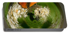 Portable Battery Charger featuring the photograph  Scarce Copper 3 by Jouko Lehto