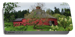 Spring At The Round Barn Portable Battery Charger