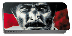- The Good The Bad And The Ugly - Portable Battery Charger by Luis Ludzska