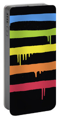 Trendy Cool Graffiti Tag Lines Portable Battery Charger