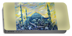 Turkey. Blue Mosque Portable Battery Charger