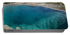 Turquoise Hot Springs Yellowstone Portable Battery Charger