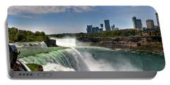 004 Niagara Falls  Portable Battery Charger by Michael Frank Jr