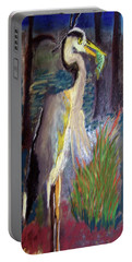 052916 Blue Heron Portable Battery Charger