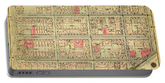 1927 Inwood Map  Portable Battery Charger