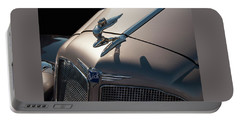 Portable Battery Charger featuring the photograph 1930s Buick Flying Lady Hood Ornament by Chris Flees