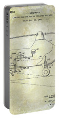 1953 Helicopter Patent Portable Battery Charger