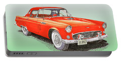 1956 Ford Thunderbird Portable Battery Charger