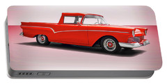 1957 Ford Custom Ranchero Portable Battery Charger