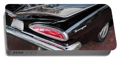 1959 Chevrolet Biscayne   Portable Battery Charger by Rich Franco