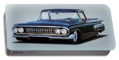 1960 Chevrolet Custom El Camino Portable Battery Charger