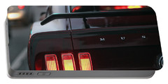 Portable Battery Charger featuring the photograph 1969 Ford Mustang Mach 1 by Gordon Dean II