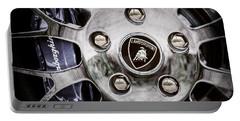 1997 Lamborghini Diablo Roadster  Wheel Emblem -1303ac Portable Battery Charger