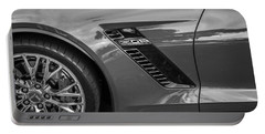 2015 Chevrolet Corvette Z06 Painted  Portable Battery Charger