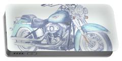 2015 Softail Portable Battery Charger by Terry Frederick