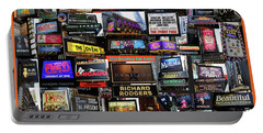 2016 Broadway Fall Collage Portable Battery Charger