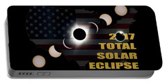 2017 Total Solar Eclipse Across America Portable Battery Charger