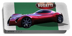 2025 Bugatti Aerolithe Concept With 3 D Badge  Portable Battery Charger