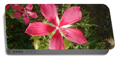 Hibiscus Coccineus Portable Battery Charger