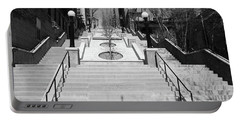 215th Street Stairs Portable Battery Charger