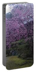 Shidarezakura Mean A Drooping Cherry Tree  Portable Battery Charger