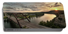 360 Bridge Sunset Portable Battery Charger