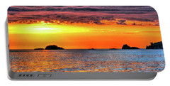 A Glorious Morning On Lake Superior #2 Portable Battery Charger