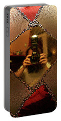 Portable Battery Charger featuring the photograph A Photographer's Christmas Greeting by Trish Mistric