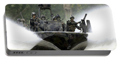A Special Operations Craft Riverine Portable Battery Charger