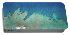 Abstract Aerial Reef Portable Battery Charger