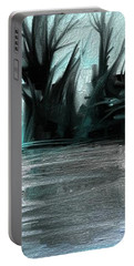 Portable Battery Charger featuring the digital art Art Abstract by Sheila Mcdonald