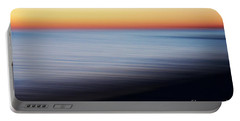 Abstract Sky And Water Portable Battery Charger