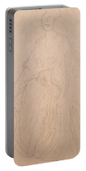 Adele Bloch Bauer Portable Battery Charger by Gustav Klimt