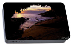 Admiral's  Arch Sunset Portable Battery Charger by Mike Dawson